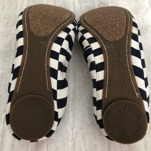 Lucky Brand Shoes - Lucky Brand- Navy & White Striped Flats- Size 7.5